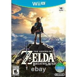 The Legend of Zelda Breath of the Wild Nintendo Wii U LINK Hyrule RPG NEW