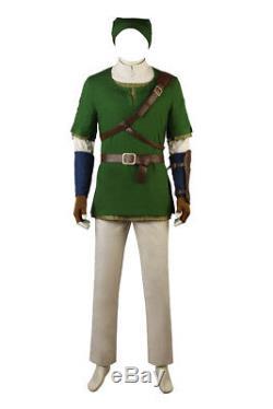 The Legend of Zelda Cosplay Twilight Princess Link Cosplay Costume Custom Made