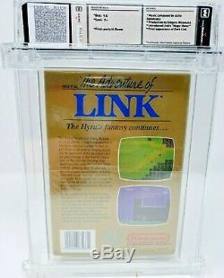The Legend of Zelda II 2 Adventure Link Nintendo NES New Sealed Gold WATA 9.0 C+