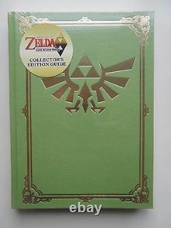 The Legend of Zelda Link Between Worlds Collectors Edition Guide New & Sealed
