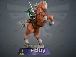 The Legend of Zelda Link Unpainted Resin Kits Model GK Figurine 3D Print 30cm