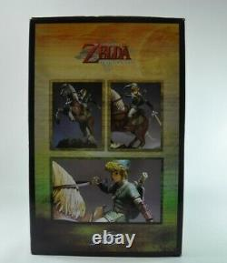 The Legend of Zelda Link on Epona First 4 Figures Statue offers welcome