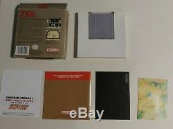 The Legend of Zelda Link's Awakening Complete in Box CIB withALL inserts