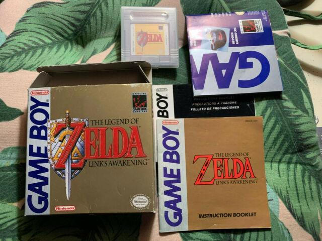 The Legend Of Zelda Link's Awakening Complete In Box Cib First Release Wata Vga
