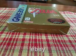 The Legend of Zelda Link's Awakening DX Authentic Game Boy Color Box Only
