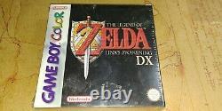 The Legend of Zelda Link's Awakening DX Game Boy Color GBC European version