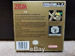 The Legend of Zelda Link's Awakening DX (Gameboy Color) Complete in Box CIB