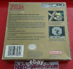 The Legend of Zelda Link's Awakening DX NINTENDO Game Boy Color Actual pic LOOK