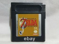 The Legend of Zelda Link's Awakening DX NIntendo GameBoy Color Complete Game Boy