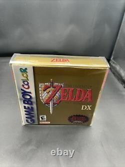 The Legend of Zelda Link's Awakening DX Nintendo Game Boy Color Complete CIB