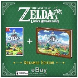 The Legend of Zelda Link's Awakening Dreamer Edition In Hand