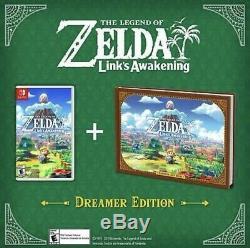 The Legend of Zelda Link's Awakening Dreamer Edition Nintendo Switch IN HAND