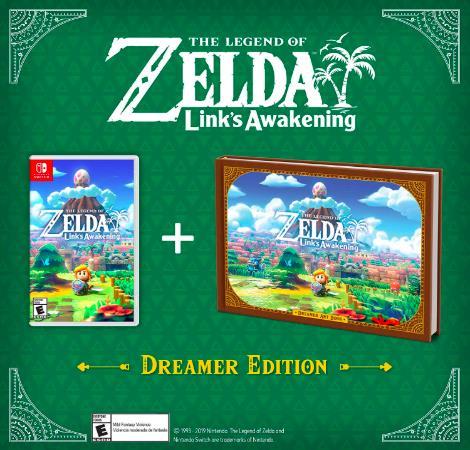 The Legend Of Zelda Link's Awakening Dreamer Edition Nintendo Switch Limited