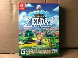 The Legend of Zelda Link's Awakening Dreamer Edition Nintendo Switch NEW SEALED