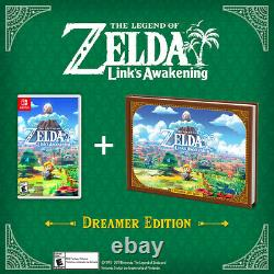 The Legend of Zelda Link's Awakening Dreamer Edition Switch + Links Amiibo