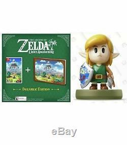 The Legend of Zelda Link's Awakening Dreamer Edition Switch + Links Amiibo pre