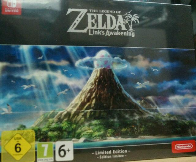 The Legend Of Zelda Link`s Awakening Limited Edition Nintendo Switch Neu Ovp