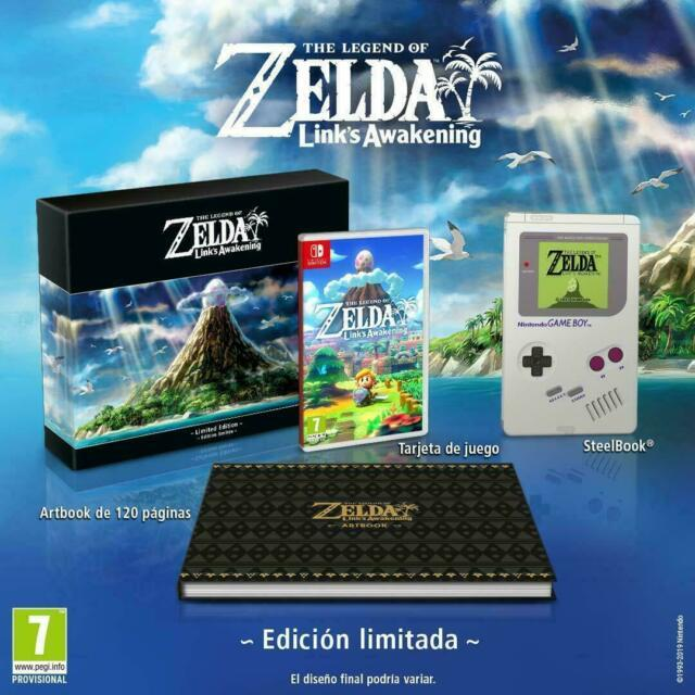 The Legend Of Zelda Link's Awakening Limited Edition Nintendo Switch Preorder
