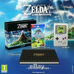 The Legend of Zelda Link's Awakening Limited Edition PAL (Nintendo Switch) NEW