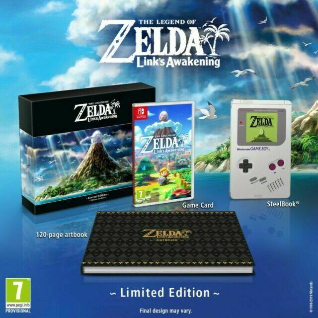 The Legend Of Zelda Link's Awakening Limited Edition Steel Book Eu Pre-order