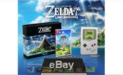 The Legend of Zelda Link's Awakening Limited Edition Switch (EU) + Links Amiibo