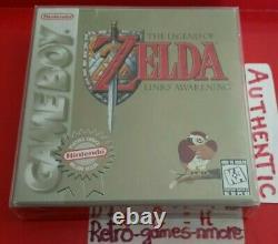 The Legend of Zelda Link's Awakening NINTENDO Game Boy AUTHENTIC GB Actual pict