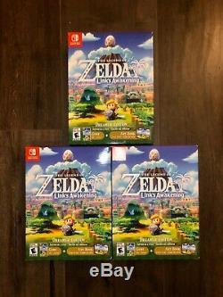 The Legend of Zelda Link's Awakening (Nintendo Switch, 2019, Dreamer Edition)