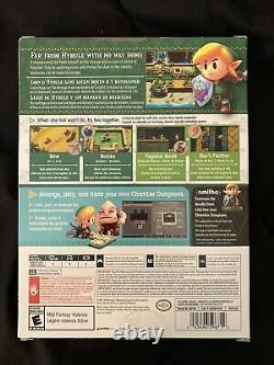 The Legend of Zelda Link's Awakening (Nintendo Switch) Dreamer Edition- New