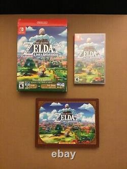 The Legend of Zelda Link's Awakening Nintendo Switch Dreamer Edition Open Box