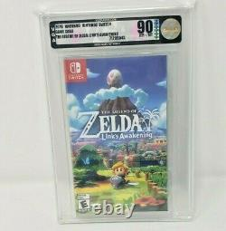 The Legend of Zelda Link's Awakening Nintendo Switch New Sealed MINT VGA WATA