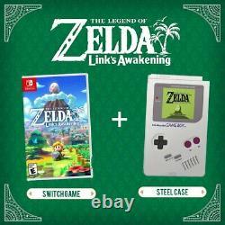 The Legend of Zelda Link's Awakening Steelbook Edition Nintendo Switch