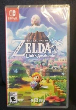 The Legend of Zelda Link's Awakening + Steelbook (Nintendo Switch, 2019) New