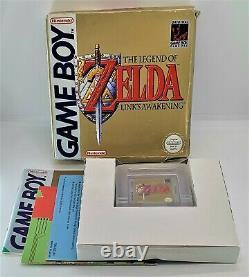 The Legend of Zelda Link's Awakening for Nintendo Game Boy TESTED BOXED