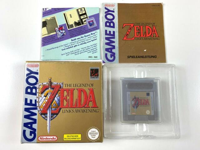 The Legend Of Zelda Link's Awakening In Ovp Box Cib Nintendo Gameboy Classic