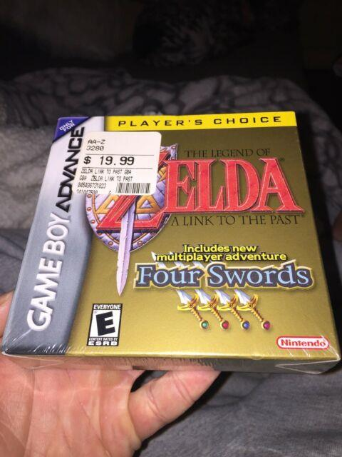 The Legend Of Zelda Link To The Past Nintendo Gameboy Advance Sealed Excellent