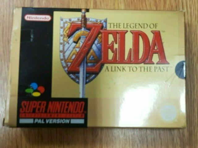 The Legend Of Zelda Link To The Past Super Nintendo Game (snes) Complete