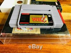 The Legend of Zelda Link to the Past Super Nintendo SNES 100% CIB Complete