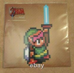 The Legend of Zelda Link to the Past Vinyl Record Nintendo LP Soundtrack