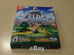 The Legend of Zelda Links Awakening Dreamer Edition Nintendo Switch In Hand