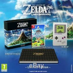The Legend of Zelda Links Awakening Limited Edition Nintendo Switch Region Free