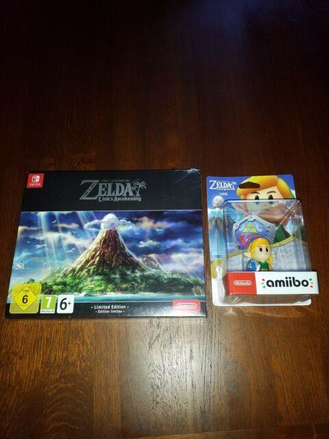 The Legend Of Zelda Links Awakening Limited Edition + Amiibo