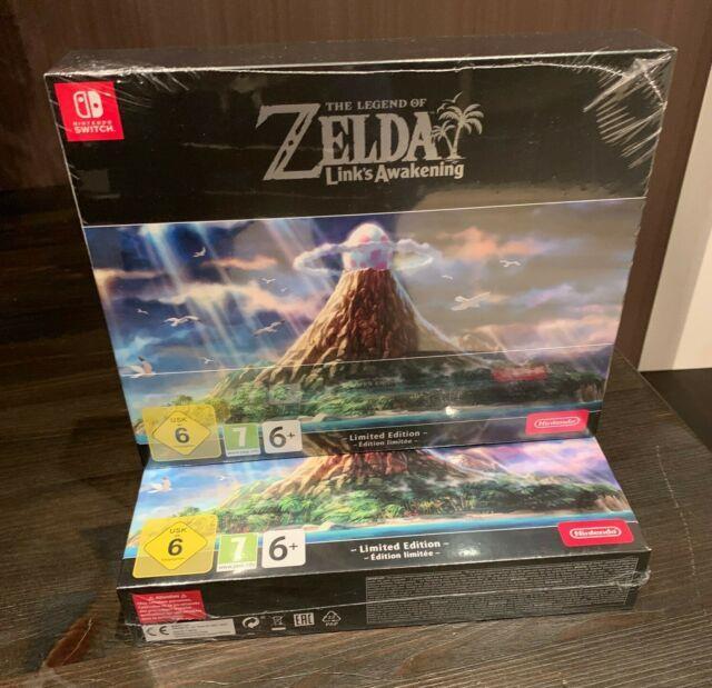 The Legend Of Zelda Links Awakening Limited Edition New Sealed