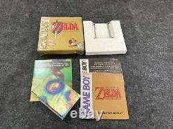 The Legend of Zelda Links Awakening for Game Boy Box and Inserts