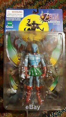 The Legend of Zelda Majora's Mask Zora Link Figure RARE Epoch CWorks 2000 Japan