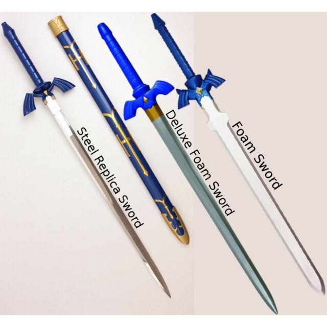 The Legend Of Zelda Master Sword (choose Your Style) Link Cosplay Nintendo