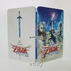 The Legend of Zelda Skyward Sword HD + Steelbook Korean Switch English Support