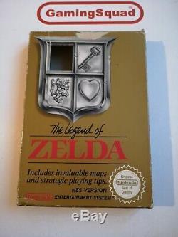 The Legend of Zelda & The Adventure of Link BOXED Nintendo NES