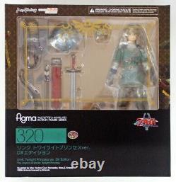 The Legend of Zelda Twilight Princess DX Edition Link Figure Figma Max Factory