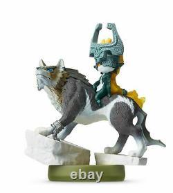 The Legend of Zelda Twilight Princess HD Wolf Link Amiibo Bundle (Wii U)