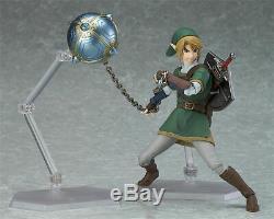 The Legend of Zelda Twilight Princess Link Figure Figma 320 Model Toy in Box